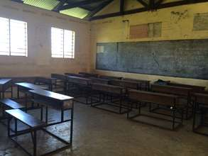 Classroom of Buyani Secondary School