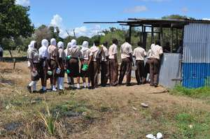 Lunchtime at Buyani Secondary School