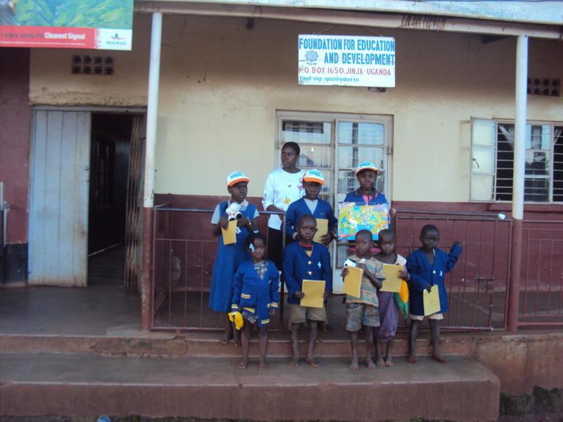 SHELTERING 35 ORPHANED CHILDREN IN UGANDA