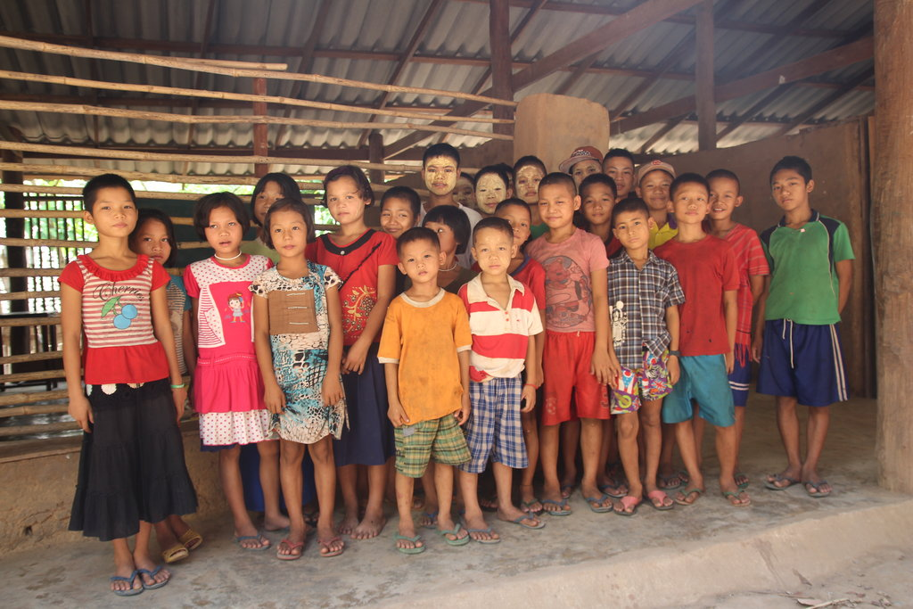 Solar Power For 115 School Children From Burma