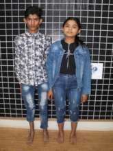 Amit and Ajita standing tall after their treatment