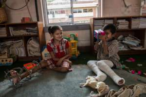 Children on the road to recovery