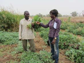 Raise crops, feed our village, transform lives