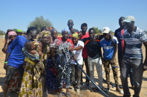 Boustane Lo celebrating access to water in 2019