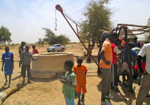 Darou Diadji is excited about the well rehab!