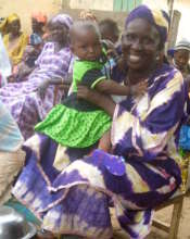 Kine with her granddaughter in Darou Diadji