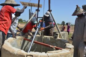 Rehabilitation of the Mbossedji well