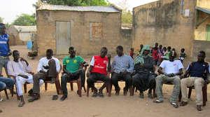 Men in Darou Diadji are donating labor for rehab