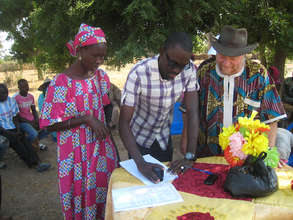 Official project kick-off in the community of Walo