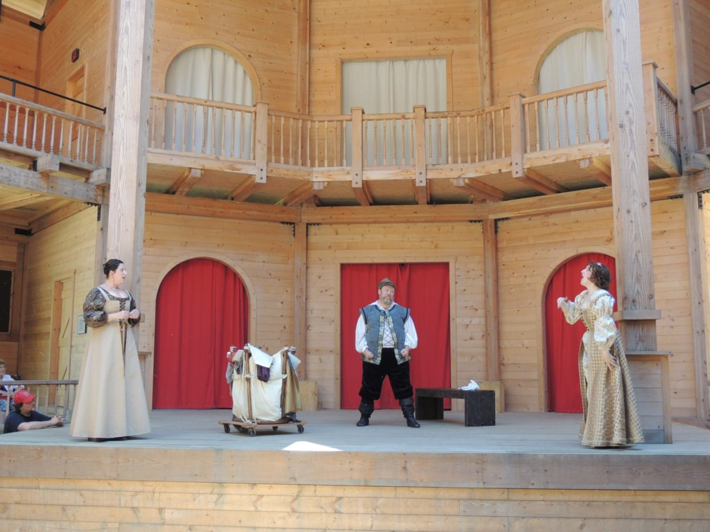 Shakespeare in an Elizabethan Playhouse