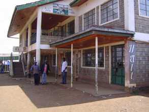 Meeting Hall at Kibero Human Development Project