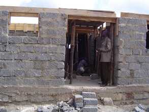 Contractor in Unfinished Structure