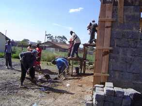 Workers Casting Ceiling Slab