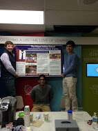 Presenting their Work