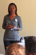 Solange Impanoyimana shares her personal story