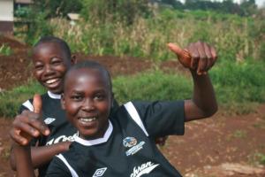 Soccer brings smiles!