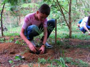 Young Eco Leader at work