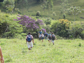 Visit of the Ecolideres in different environments