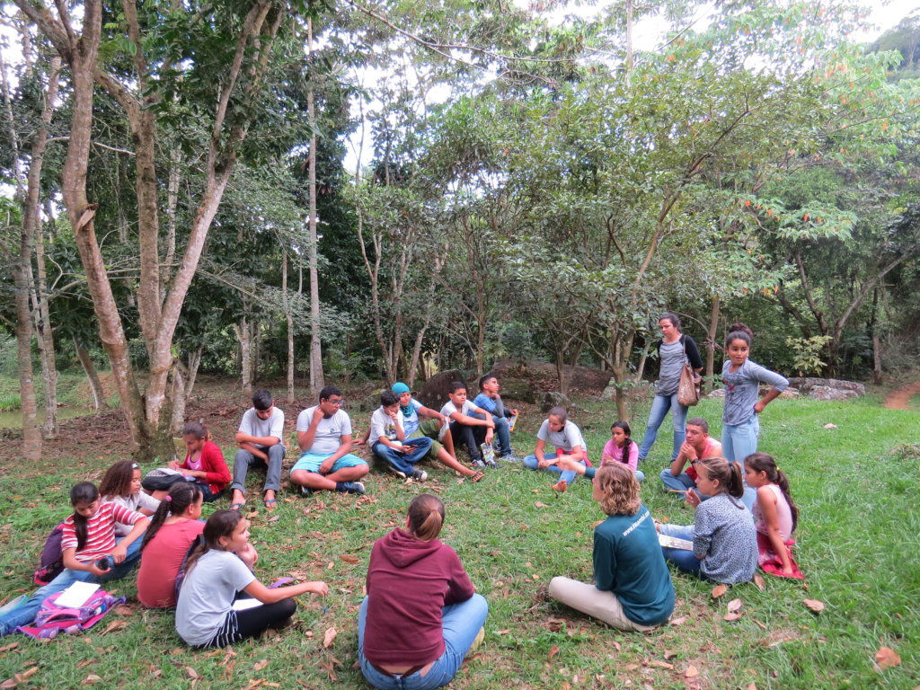 Young EcoLeaders of the Brazilian Rainforest