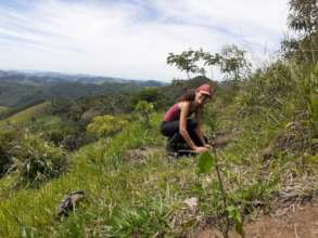 Environmental Leader Sheila getting to work