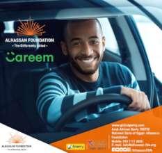 Careem driver on wheelchair