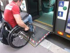 Accesible Wheelchair users bus
