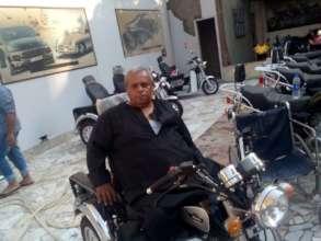Abd El-Wahab on his Ride