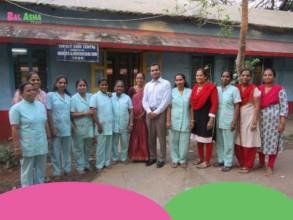Our Nurses with Dr. Fazal