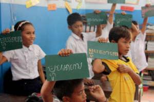 Helping children get an education