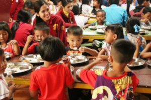 Lunchtime at our Education Center