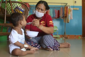 Providing nutrition for vulnerable babies