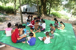 Mobile Library in nearby villages