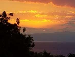 Sunset in Haiti