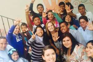 Students and Volunteers Applaud Your Help