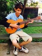 Fernando and guitar