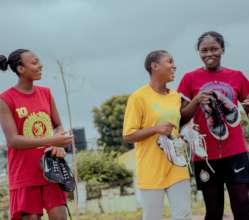 The senior girls also.