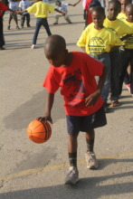Working on a dribble
