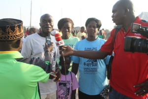Parents expressing gratitude for the camp
