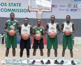 Hassan (First from right) made the Allstar team.