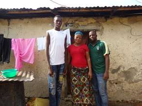Mohammed, his mother, and Time Out 4Africa staff