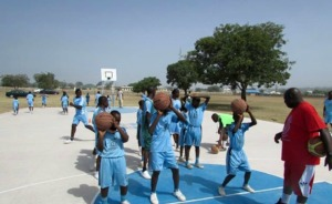 Shooting Drills with Mr Ben(Timeout4africa staff)