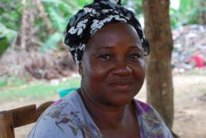 Miatta, from Liberia, lost seven family members.