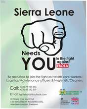 Sierra Leone billboard sign