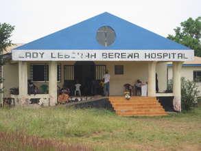 Lady Deborah Berewa outpatient Hospital in Lakka