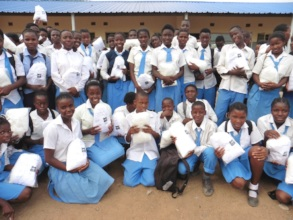 1,350 River View Pupils received mosquito nets