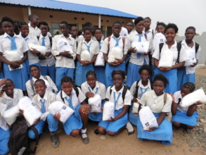 Distribution of mosquito nets in schools