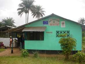 Imani House clinic, Liberia (credit: Imani House)