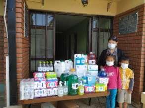 Care Packages Program, Salomon Klein Delivery