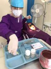 Our dentist gives tooth saving treatment