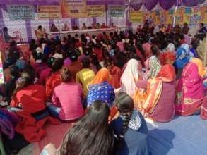 Girls in UP on National Girls' Child Day